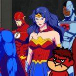 劇場版アニメ「DCスーパーヒーローズvs鷹の爪団」予告編公開 主題歌はGLIM SPANKY