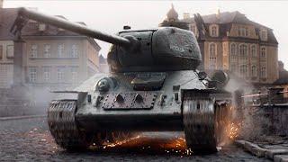 800万人が熱狂した胸アツ戦車アクション/映画『T-34 レジェンド・オブ・ウォー』予告編