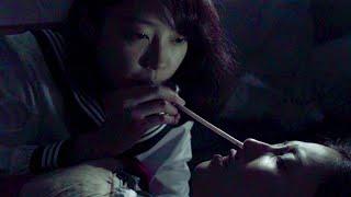 セーラー服の幽霊が血を吸う恋愛ホラー映画『海の底からモナムール』120秒予告編